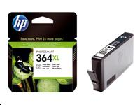 Cartouche HP N°364 XL - Photo noir - CB322EE BA1