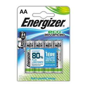 Piles Energizer Eco Advanced - AA - LR6