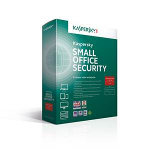 Antivirus - Kaspersky Small Office Security - Licence 1 an - 1 serveur + 5 postes WINDOWS
