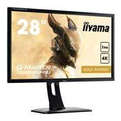 "28"" - Ecran Plat LED - IIYAMA - GB2888UHSU-B1 - Ultra HD 4K - TN - FreeSync"