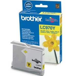 Cartouche Brother LC970Y - Jaune - BRLC970Y