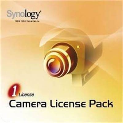 Camera License Pack - SYNOLOGY - 4 licences