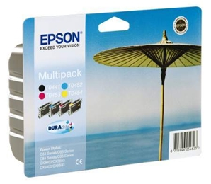 Multipack cartouches epson T0445 ( T0441 T0452 T0453 T0454 ) - T044140A0
