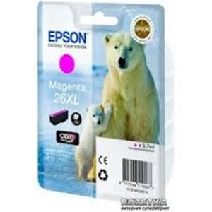 Cartouche Epson 26XLM - Ours Polaire - Magenta - C13T26334010