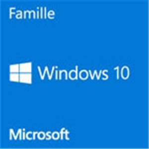 Microsoft Windows 10 Edition Familiale Premium 64 Bits - Version OEM