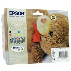 Multipack cartouches epson T0615 - T0611 T0612 T0613 T0614