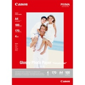 Papier Canon - GP-501 - Glossy Photo - 100 feuilles - Format A4 - 0775B001