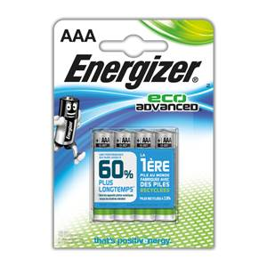 Piles Energizer Eco Advanced - AAA - LR603