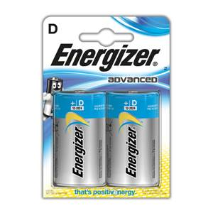 Piles Energizer Eco Advanced - D - LR20