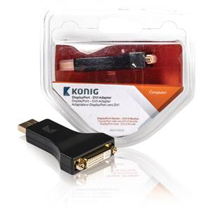 Adaptateur DISPLAY Port - DVI - KONIG KNC37925E
