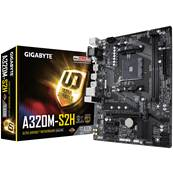 Carte Mère GIGABYTE A320M-S2H - Socket AM4 - pour CPU AMD