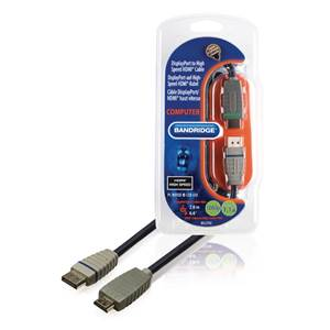 CABLE DISPLAYPORT HDMI Male / Male - 2M