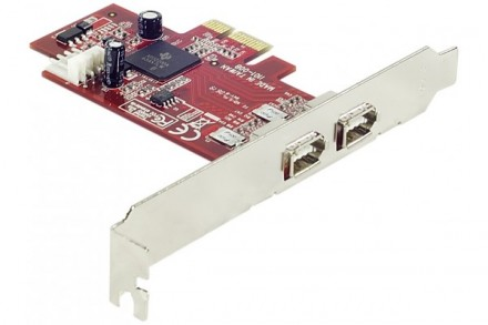 Dexlan - Carte PCI-Express 2x 1394a